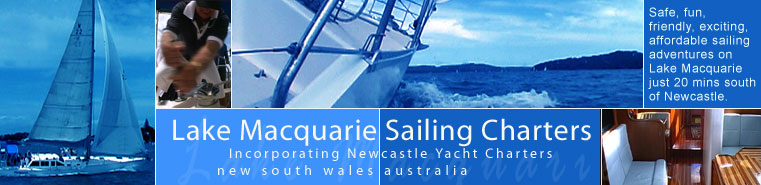 Lake Macquarie Sailing Charters